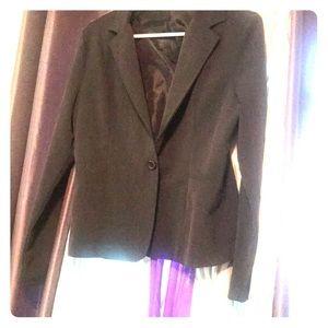 Lightweight summer one-button blazer jacket
